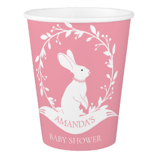 Bunny Baby Shower Paper Cup