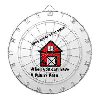 Bunny barn dartboard