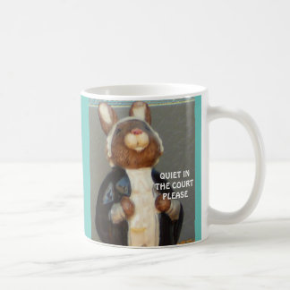"""""""Bunny Barrister"""" Coffee Mug"""