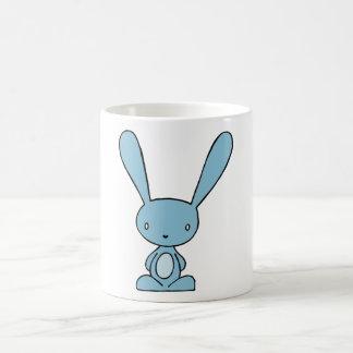 Bunny Blue Basic White Mug