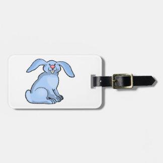 Bunny Blue Luggage Tags