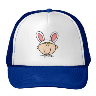 Bunny Boy Blond Tshirts and Gifts Cap