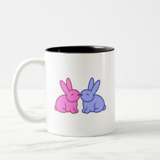 "Bunny Buddhism ""Grateful Bunnies"" Mug Mugs"