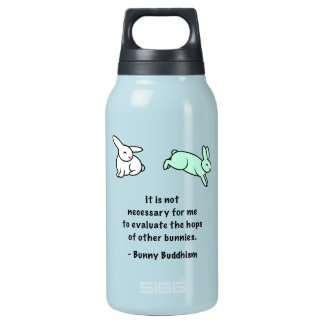 "Bunny Buddhism ""Hops of Other Bunnies"" SIGG Bottle"