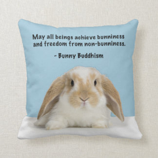 Bunny Buddhism Lop Bunny Pillow