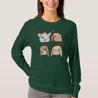 Bunny Bunch Christmas T-Shirt
