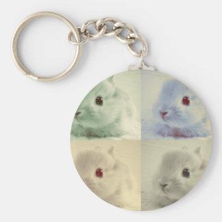 Bunny Bunny Bunny Bunny Key Chains