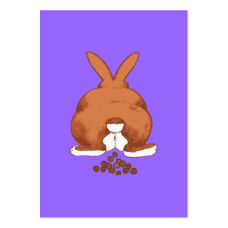 Bunny Butt Large Business Cards (Pack Of 100)