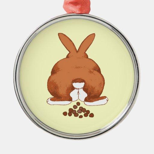 Bunny Butt Ornament