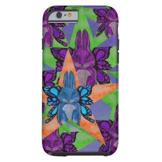 Bunny Butterfly Star Tough iPhone 6 Case