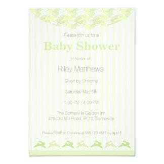 Bunny Camo Baby Shower Invitation