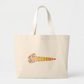 Bunny Carrot Tote Bags