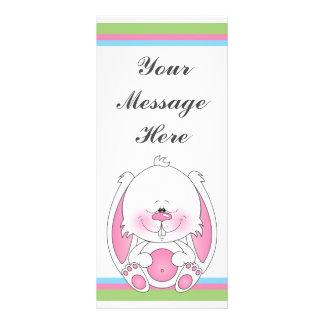 Bunny Cartoon Custom Rack Cards