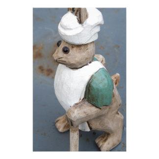 Bunny chef stationery