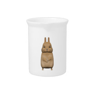 Bunny cute and lovely pitcher