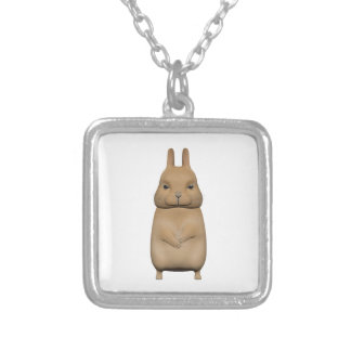 Bunny cute and lovely silver plated necklace