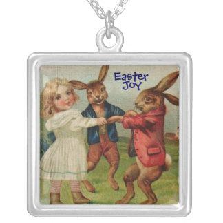 Bunny Dance Easter Joy Necklace