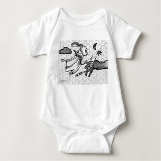 Bunny dream baby bodysuit