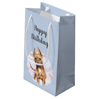 Bunny Ears 2 Birthday Small Gift Bag