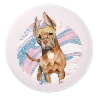 Bunny Ears Ceramic Knob