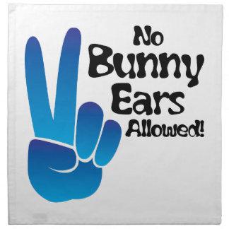 Bunny Ears Printed Napkins