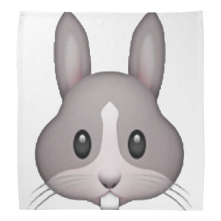 Bunny - Emoji Bandana