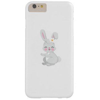 Bunny Face Cute Easter Gift Kids Girls Barely There iPhone 6 Plus Case