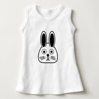 bunny face dress