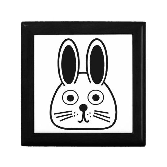 bunny face gift box
