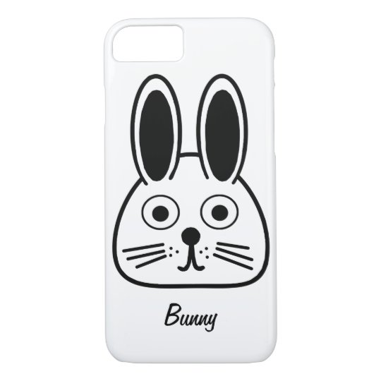 bunny face iPhone 8/7 case