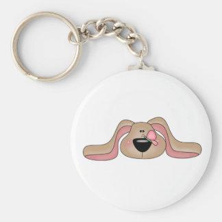 Bunny Face Keychain