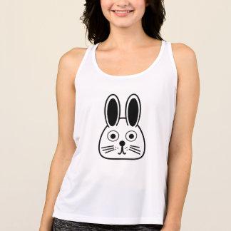 bunny face singlet