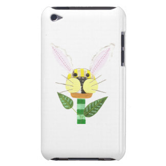 Bunny Flower 4th Generation I-Pod Touch Case