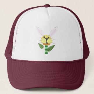 Bunny Flower Baseball Cap