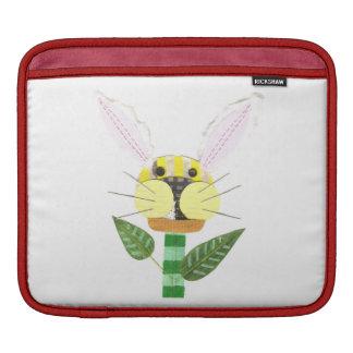 Bunny Flower I-Pad Sleeve