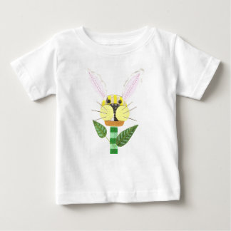 Bunny Flower No Background Baby T-Shirt