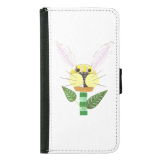 Bunny Flower Samsung Galaxy S5 Wallet Case