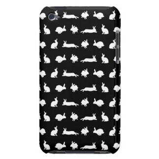 Bunny Frenzy iPod Touch Case (Black)