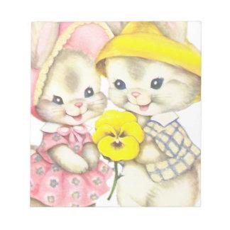 Bunny Girl+Boy Notepad
