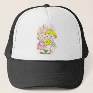 Bunny Girl+Boy Trucker Hat