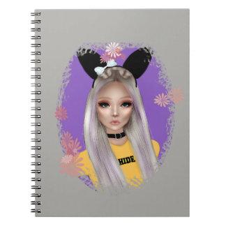 Bunny Girl Notebook