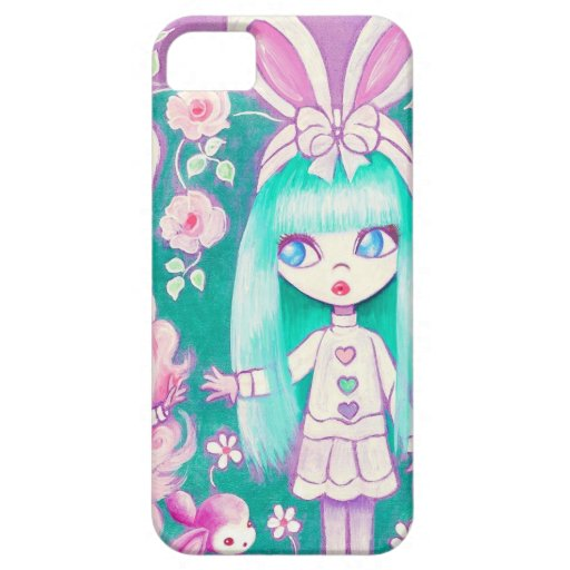 Bunny Girl Sisters (Detail) iPhone 5 Cover