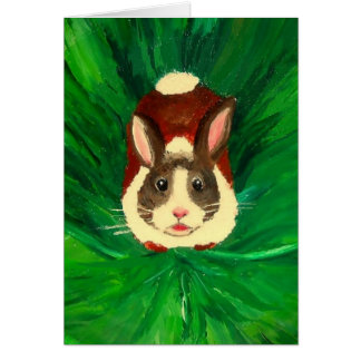 Bunny - Greeting Card