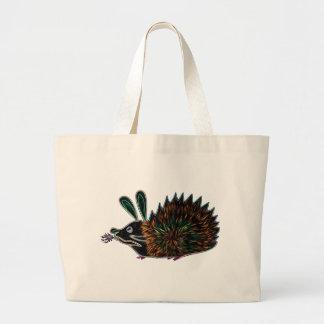 Bunny Hedgehog And Flaming Carrot Bag