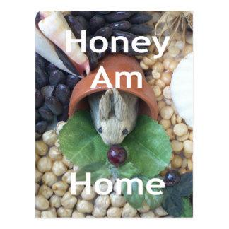 Bunny Home.png Postcard