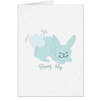 Bunny Hop Card