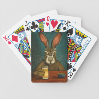 Bunny Hops Bicycle Playing Cards