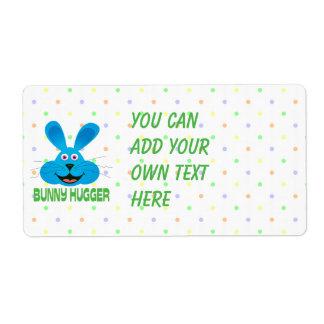 Bunny Hugger Label Shipping Label