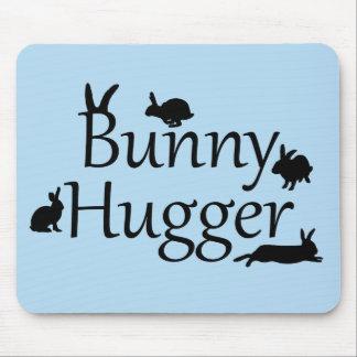 Bunny Hugger Mousemat Light Blue Mousepad