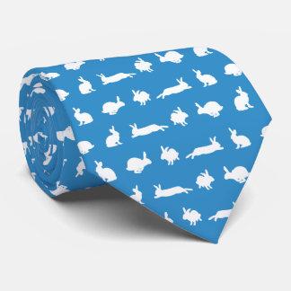 Bunny Hugger Tie (Blue)